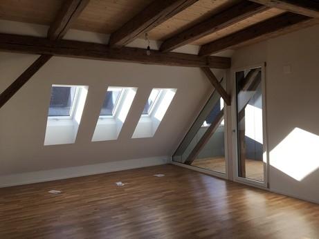 Attikawohnung, 1. Dachgeschoss