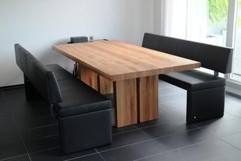 Tisch Ulme massiv, natur geölt
