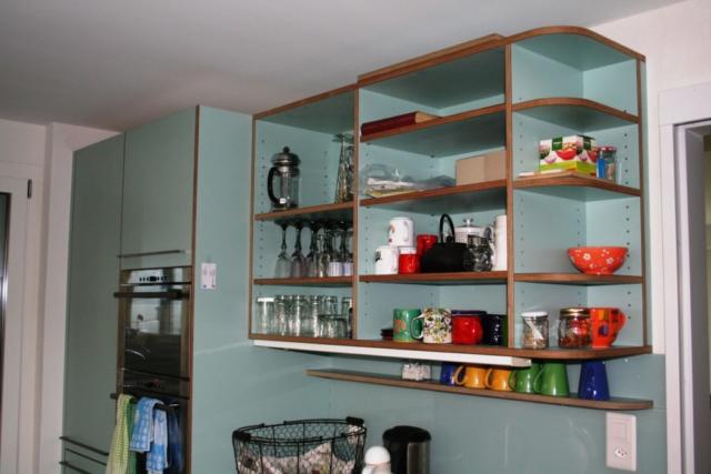 Küche Birkensperrholz, belegt