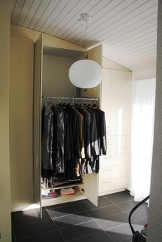 Schrankanlage mit Kleiderlift