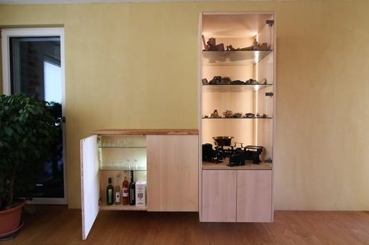 Wohnzimmermöbel europäischer Ahorn