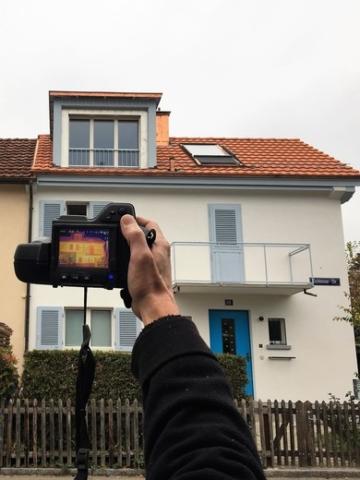 Qualitätskontrolle mit Wärmebildkamera