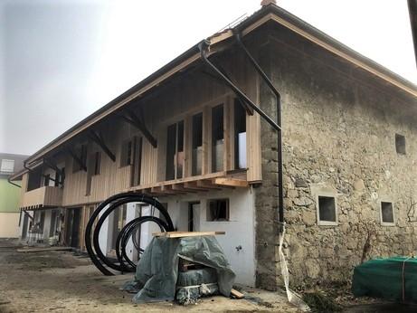 Totalsanierung Bauernhaus und Oekonomiegebäude