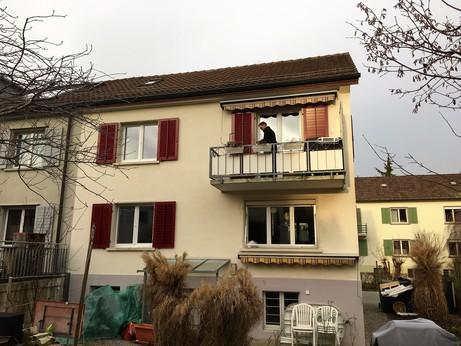 Estrichumbau in Doppeleinfamilienhaus