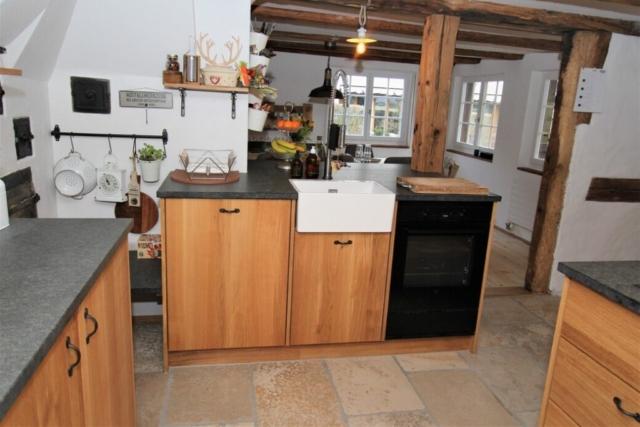 Küche massive europäische Eiche